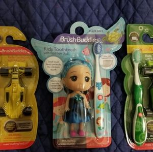 BRUSHBUDDIES  Kids Toothbrushes.